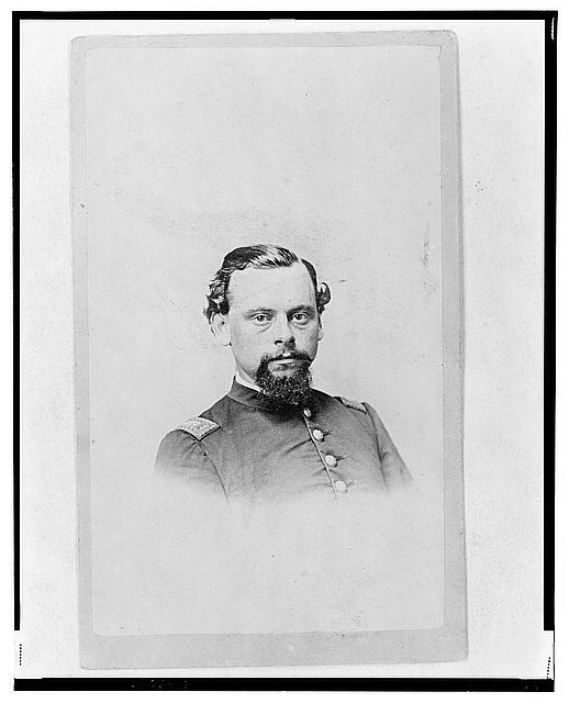 [Unidentified Union officer, half-length portrait, facing front]