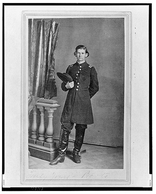 [2nd Lieutenant Albert Sidney Smith, Union officer, full-length portrait, standing, facing front]