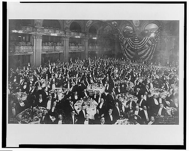 Twenty-seventh Annual Banquet of the Hotel Association of New York City, Waldorf-Astoria, New York, Jan. 11, 1906