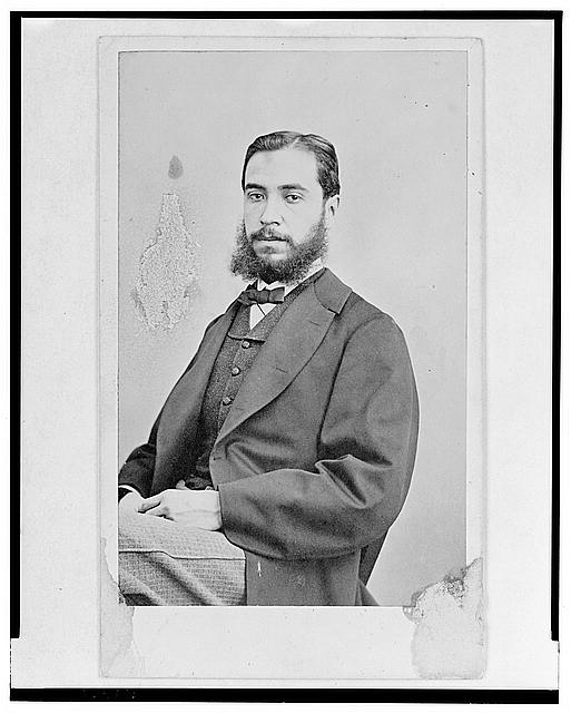 [General José Luis Blasio, half-length portrait, seated, facing front]