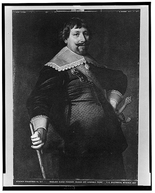 Nicolaes Eliasz. Pickenoy, Bildnis des Admirals Tromp