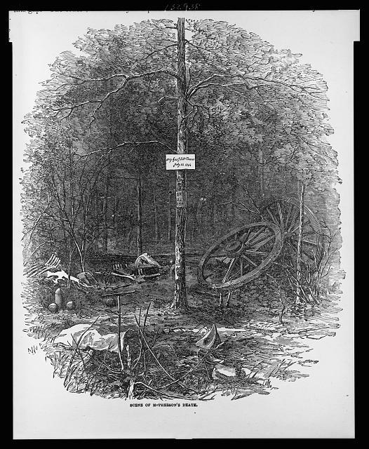 Scene of McPherson's death