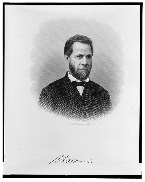 [Henry E. Davis, head-and-shoulders portrait, facing slightly right]