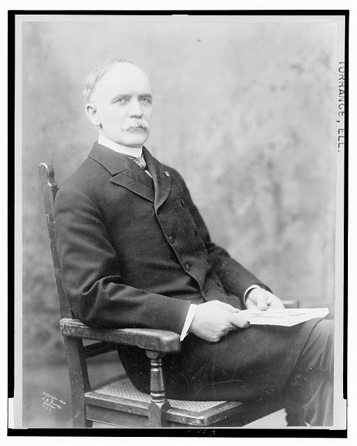 [Ell. Torrance, three-quarter length studio portrait, seated, facing slightly right]