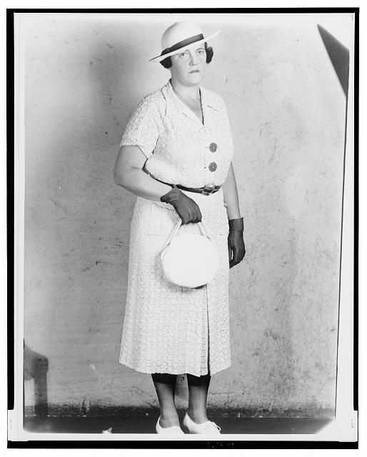 [Mary Agnes Shanley, New York City detective, full-length portrait, facing slightly right]