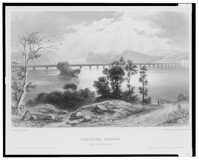 Columbia bridge (Susquehanna)