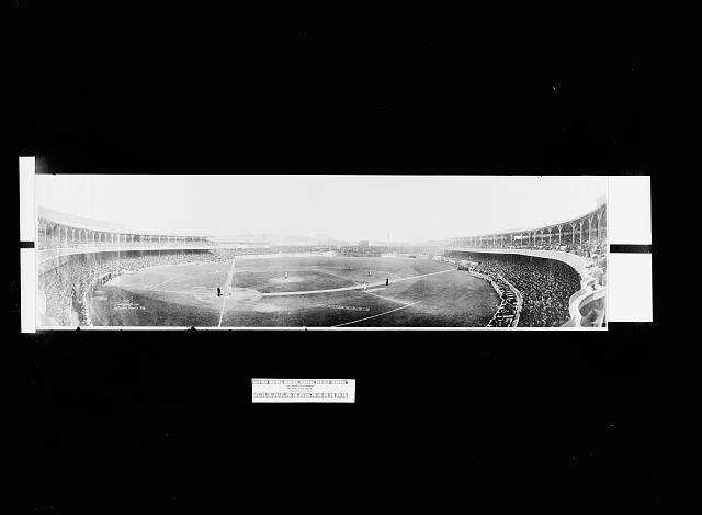 [Panorama, baseball, Polo Grounds, New York, Oct. 13, 1910]