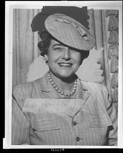 [Mrs. Dorothy Draper, head-and-shoulders portrait, facing front]