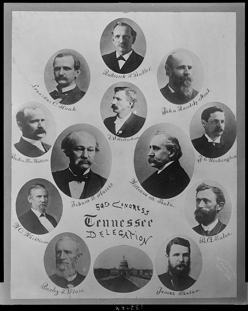 50th Congress Tennessee delegates