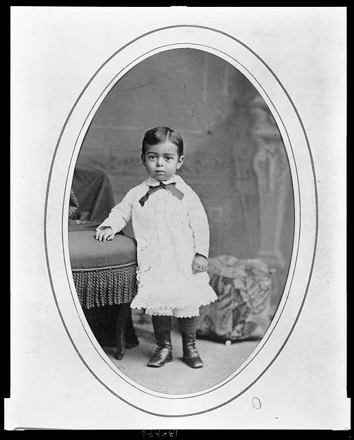 [Ernst Jacobi, born 1874 to Mary Putnam Jacobi and Abraham Jacobi, at about three or four years of age]