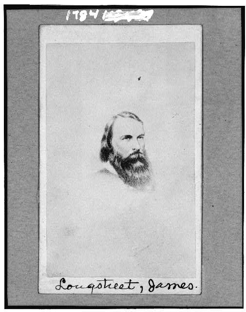 [General James Longstreet, C.S.A., head-and-shoulders portrait, facing slightly right]