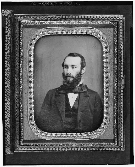 [Unidentified man, possibly William Warner Fiske, head-and-shoulders portrait, full face]