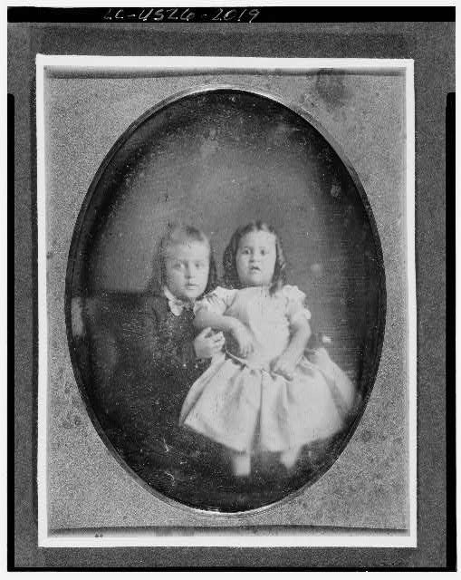 [Portrait of two children]