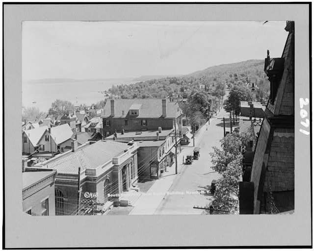 South Broadway from Burke Building, Nyack, N.Y.