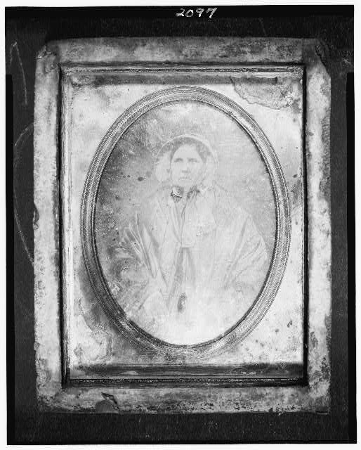 [Morteotype of Mary Gideon, half-length portrait of a woman, facing front]