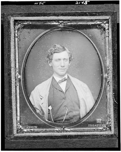 [Charles Bradhurst, head-and-shoulders portrait, facing front]