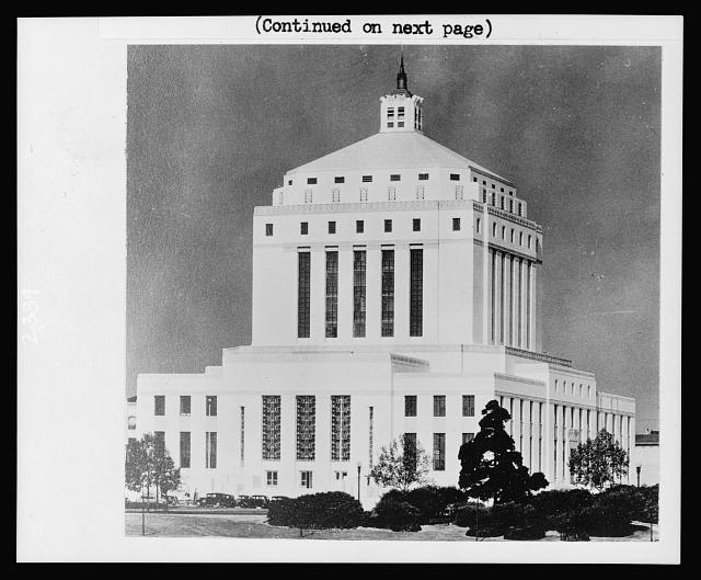Alameda County courthouse, Oakland, Ca.