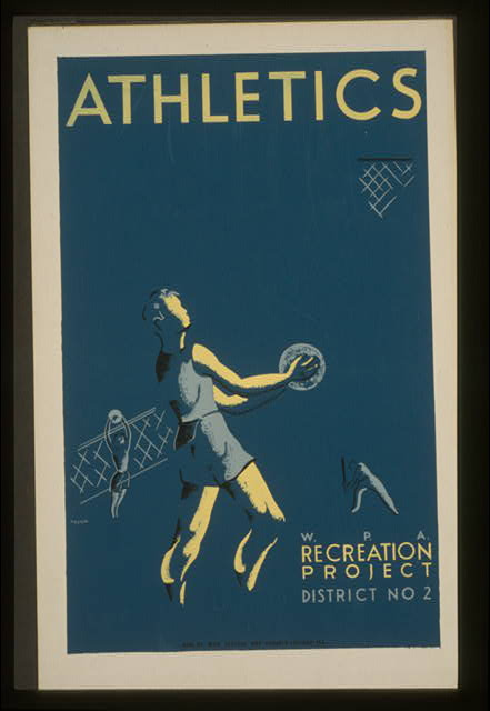 Athletics--W.P.A. recreation project, Dist. No. 2