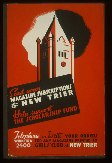 Send your magazine subscriptions to New Trier Help support the scholarship fund.