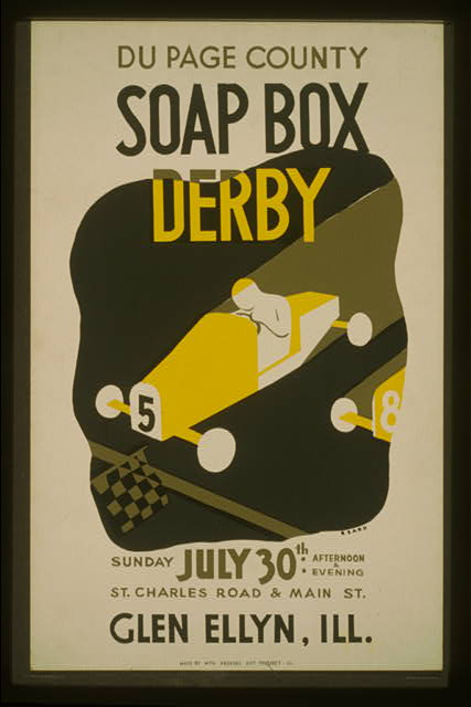 Du Page County soap box derby ... Glen Ellyn, Ill.