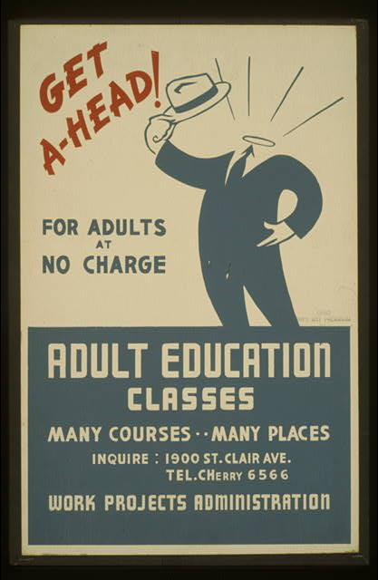Get ahead! Adult education classes : For adults at no charge.