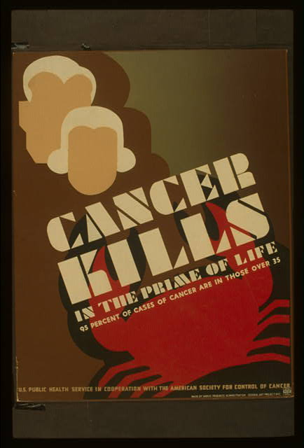 Cancer kills in the prime of life 95 percent of cases of cancer are in those over 35.