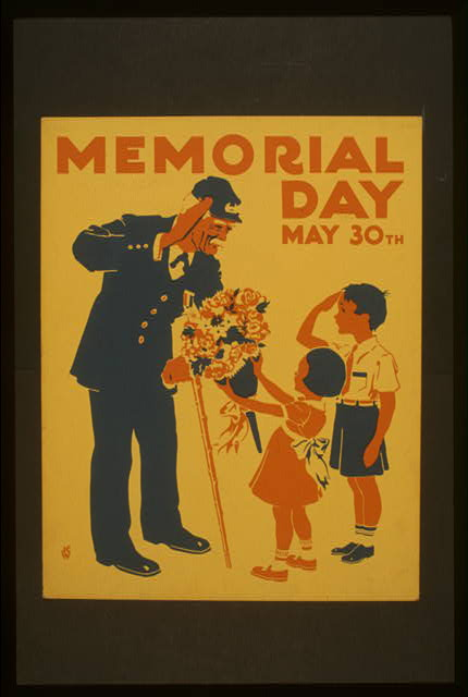 Memorial Day, May 30th