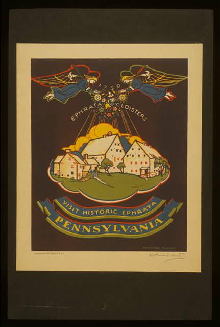 Visit historic Ephrata, Pennsylvania