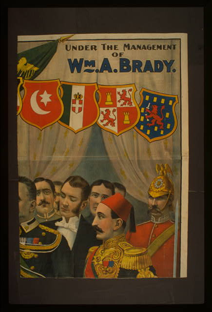 Champion of the world James J. Corbett Under the management of Wm. A. Brady.