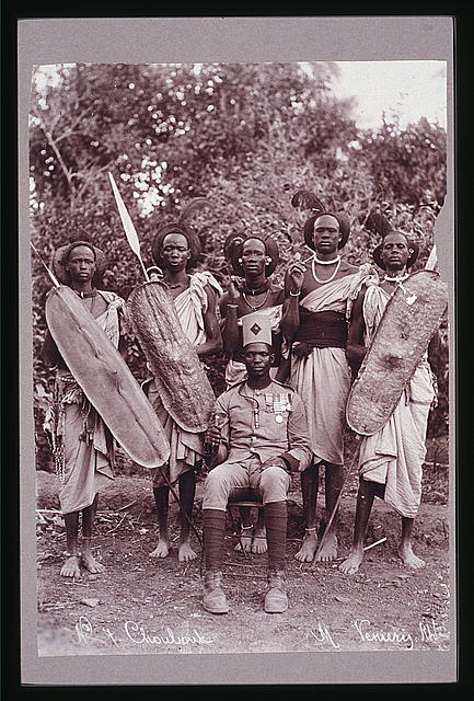 Africa - Sudan(?) - warriors