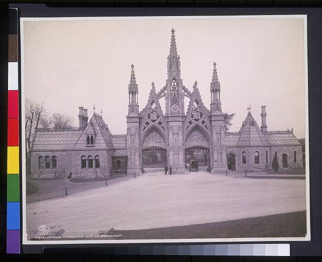 Entrance to Greenwood Cemetery, Brooklyn, N.Y.