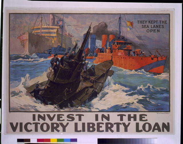 Invest in the victory liberty loan they kept the sea lanes open / / L.A. Shafer