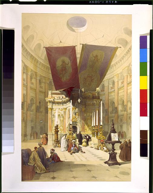 Shrine of the Holy Sepulchre April 10th 1839