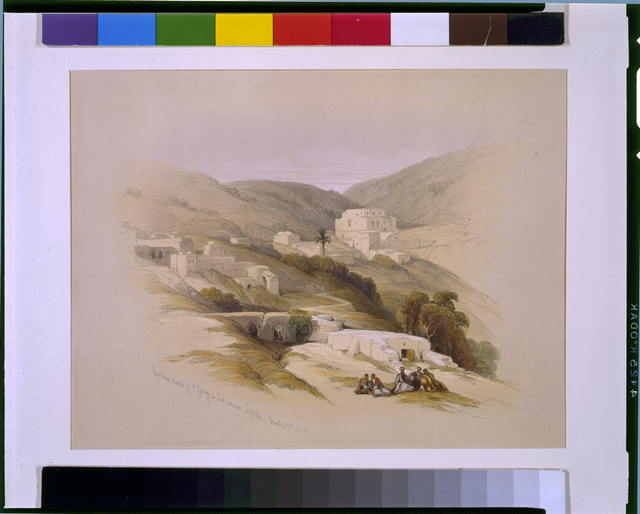 Christian Church of St George at Lud ancient Lydda March 29 1839