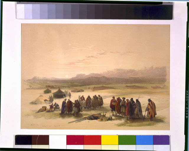Mount Seir Wady el Ghor March 4th 1839