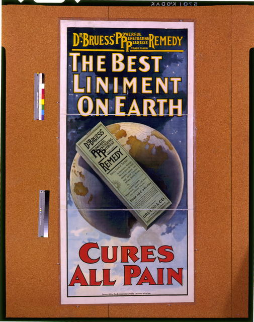 The best liniment on earth, cures all pain