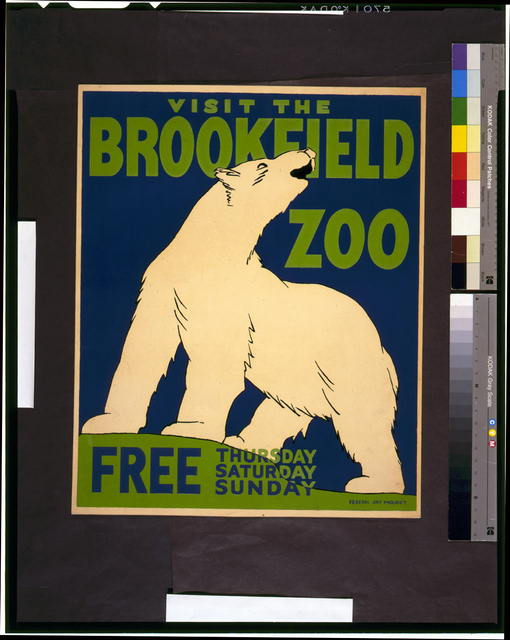 Visit the Brookfield Zoo free Thursday, Saturday, Sunday