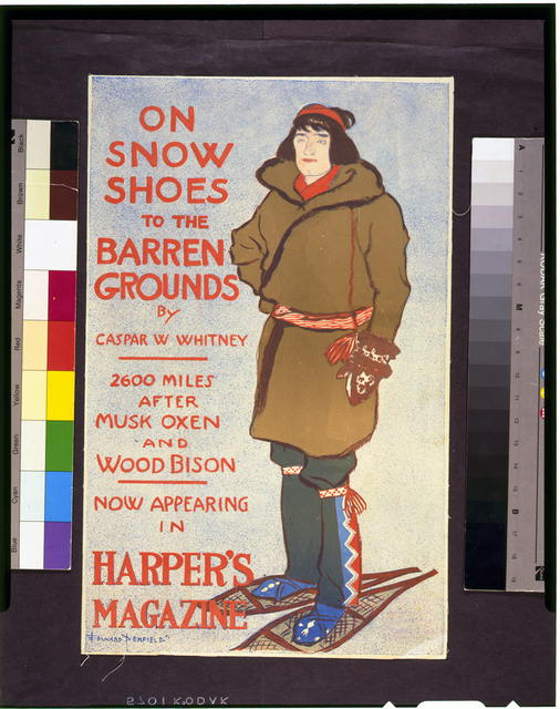 On snow shoes to the barren grounds by Caspar W. Whitney ... now appearing in Harper's magazine