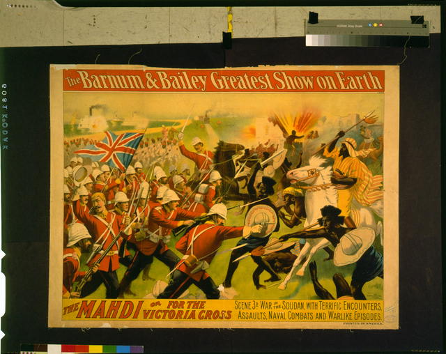 The Barnum and Bailey greatest show on earth--The Mahdi or for the Victoria Cross--Scene 3d--War in the Soudan ...