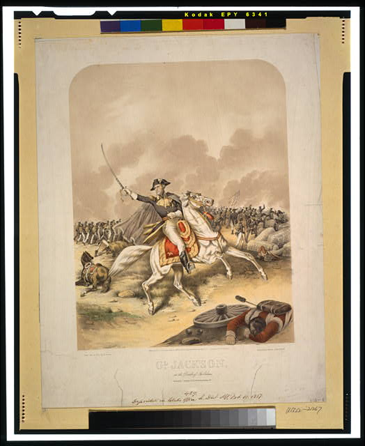 Gl. Jackson--At the Battle of New Orleans