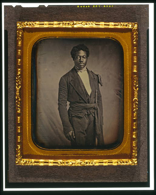 [Chancy Brown, three-quarter length portrait, facing front]