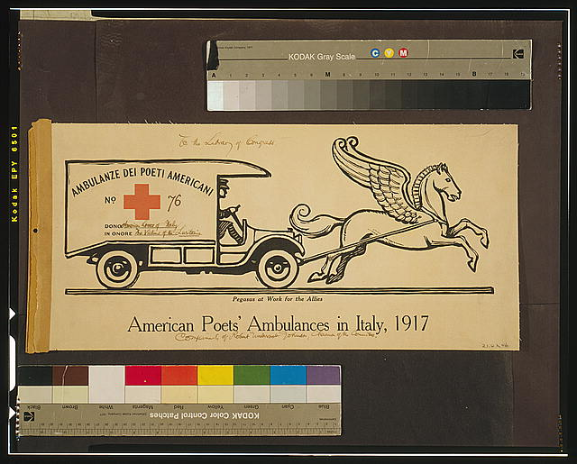American poets' ambulances in Italy, 1917