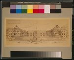 [Alterations to the Executive Mansion, for Mrs. Benjamin Harrison, Pennsylvania Avenue, N.W., Washington, D.C. View from the south, conservatory and court]