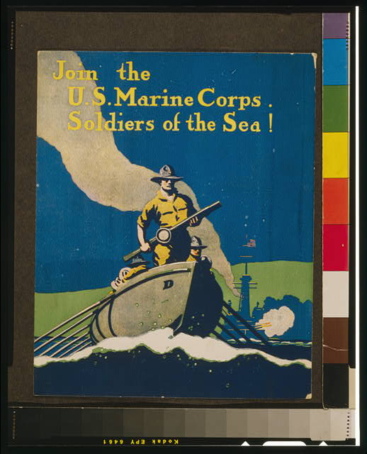 Join the U.S. Marine Corps Soldiers of the sea!