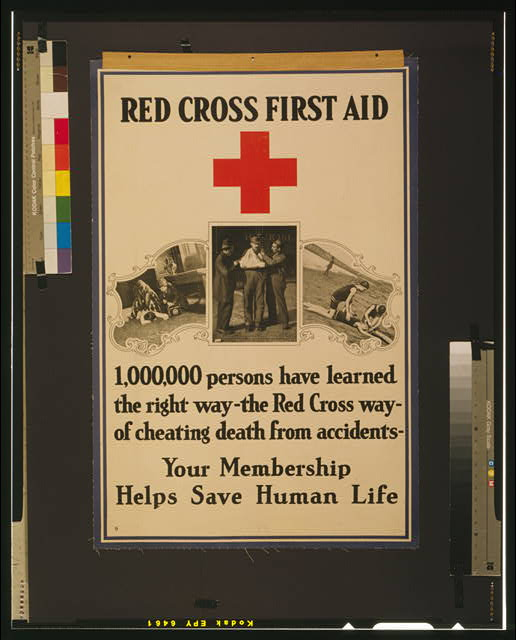 Red Cross first aid 1,000,000 persons have learned the right way--the Red Cross way--of cheating death from accidents.