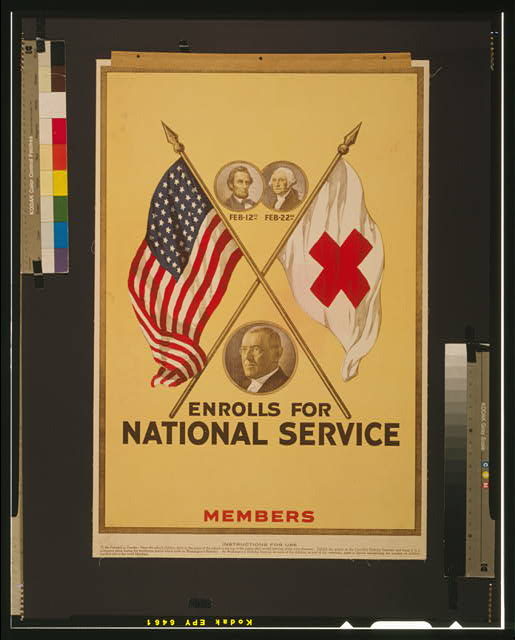 [blank] enrolls for national service Members.