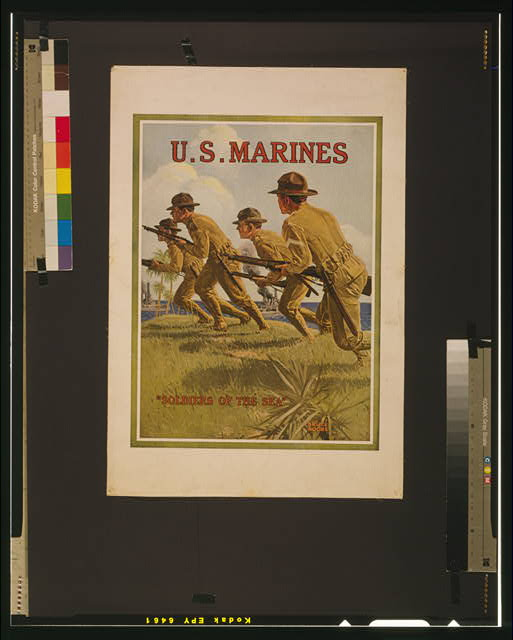 "U.S. Marines - ""Soldiers of the sea"""