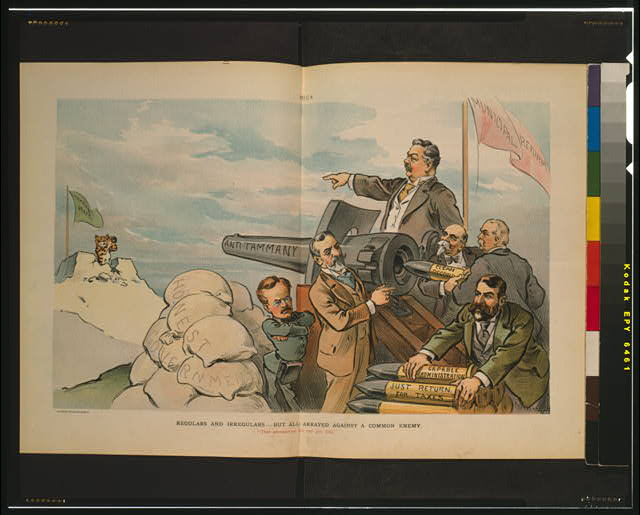 "Regulars and irregulars--but all arrayed against a common enemy--""That ammunition fits our gun only"""