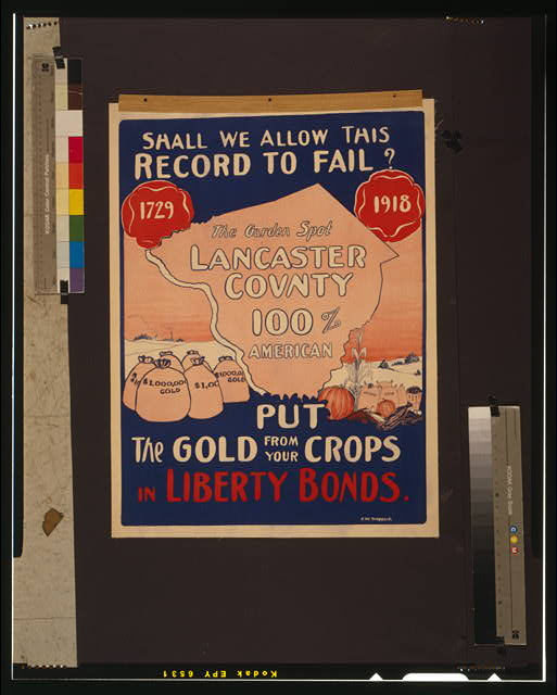 Shall we allow this record to fail? Put the gold from your crops in Liberty Bonds