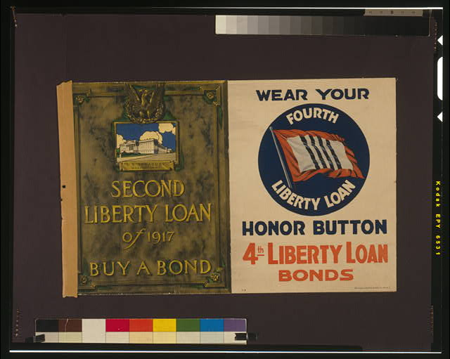 Second Liberty Loan of 1917--Buy a bond